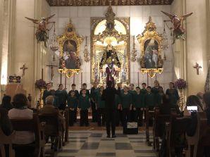 El Coro Meridianos cantará el Ave María este Domingo 2 de Febrero en la Hermandad…