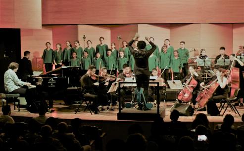 Convivencia con Orquesta de Shanghai